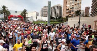 XXVI 1/2 media maraton de benidorm corredores atletismo deporte carrera