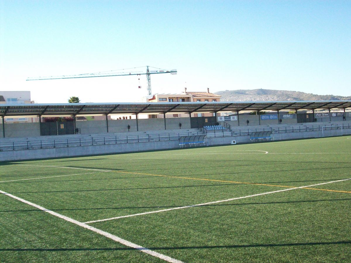 """Campo Municipal """"La Llometa"""" F-11"""
