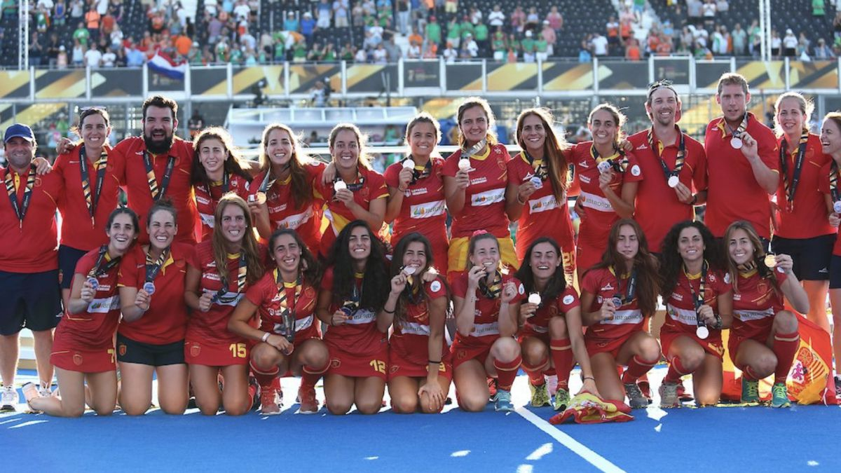 RedSticks bronce Mundial Londres
