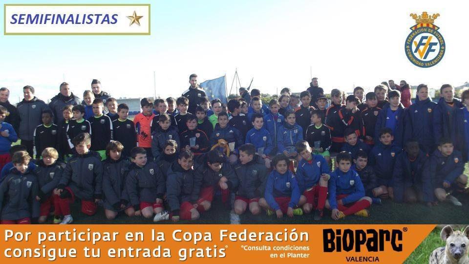 Copa Federación Benjamines Cuarta Jornada