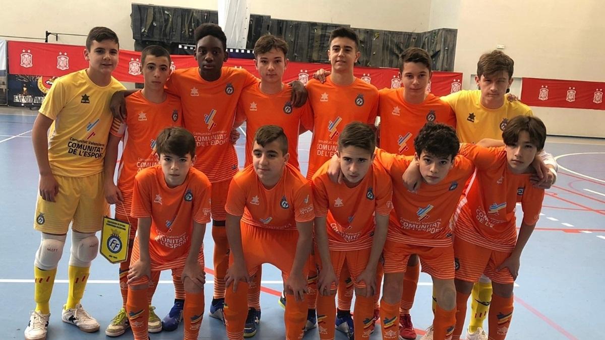 La Selección Valenciana sub-14 en el Campeonato de España