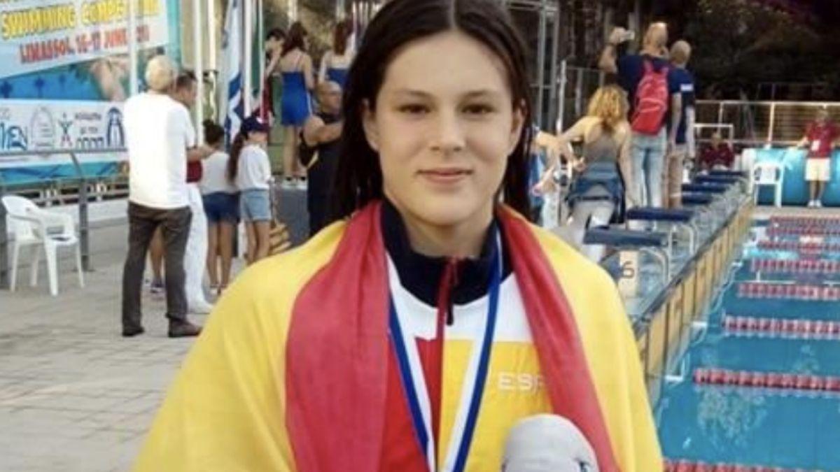 Ángela Martínez Mediterranean Cup Swimming Competitión 2018