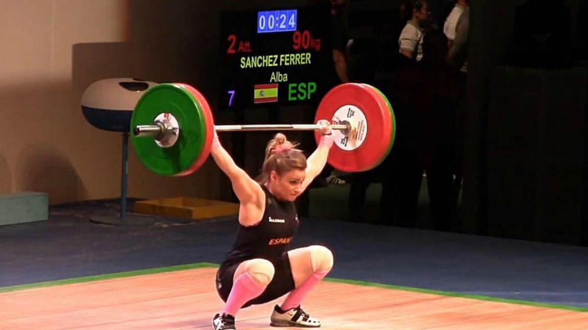 Alba Sánchez Mundial Júnior 2017