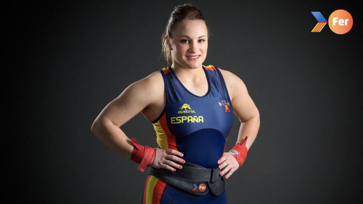 Alba Sánchez halterofilia