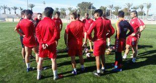 CD Torrevieja entrenamiento