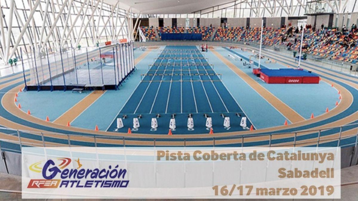 Campeonato España Atletismo Sub-16 Pista Cubierta 2019