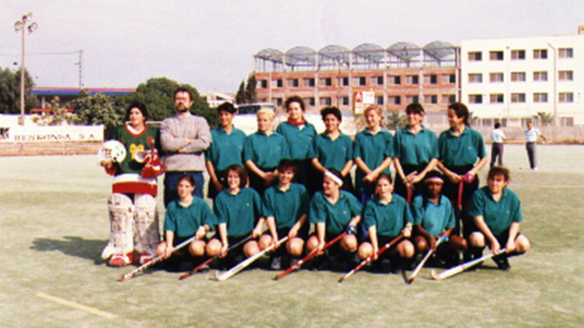 Equipo División de honor femenina Club Atlético San Vicente