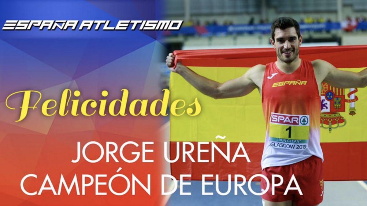 elicitación título europeo Jorge Ureña