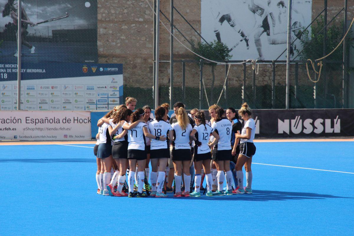 Hockey El Valencia Ch Consigue Un Punto Muy Importante Ante El