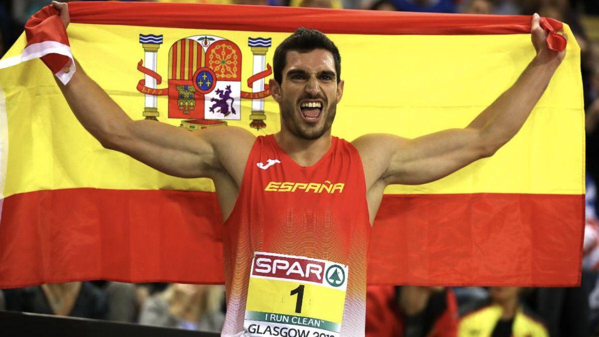 Jorge Ureña campeón Europa heptatlón 2019