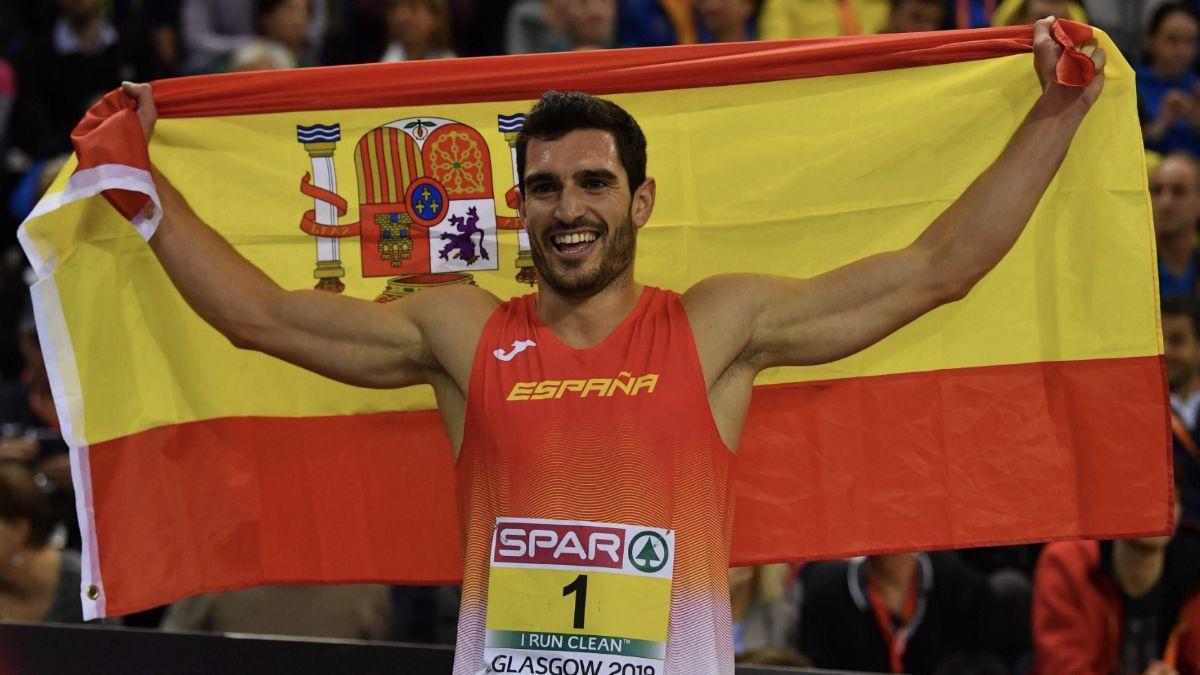 Jorge Ureña campeón Europa heptatlón