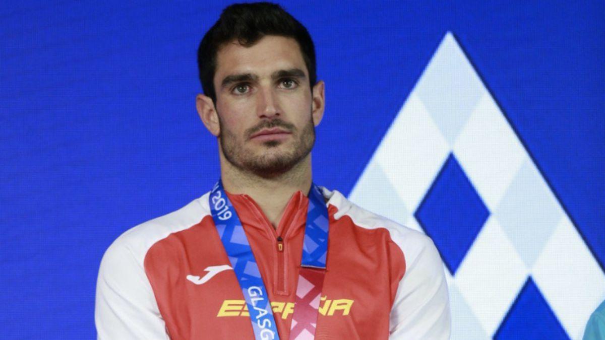 Jorge Ureña podio Europeo Glasgow 2019
