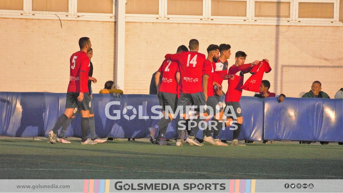 Juventud Barrio del Cristo gol homenaje Chus