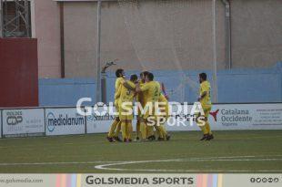 Orihuela CF celebración gol