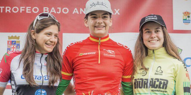 Podio cadete femenino Trofeo Bajo Andarax 2019