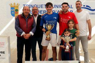 Ramón de Sumacarcer campeón autonómico raspall 2019
