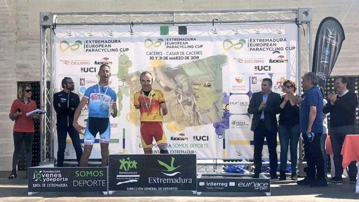 Ricardo Ten campeón Extremadura European Paracycling Cup