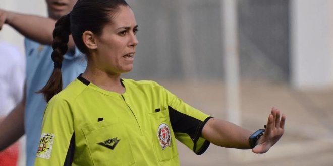 Rita Cabañero árbitro