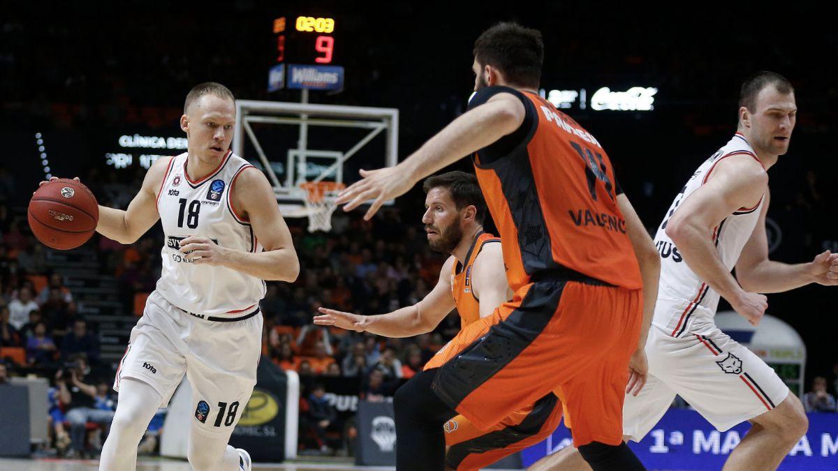 Valencia Basket - Rytas Vilnius