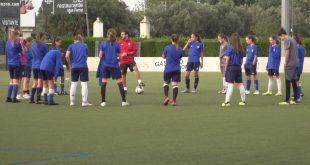 Valencia Femenino entrenamiento
