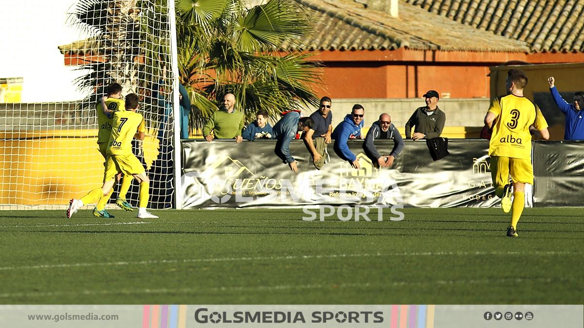 Vilamarxant fútbol celebración gol