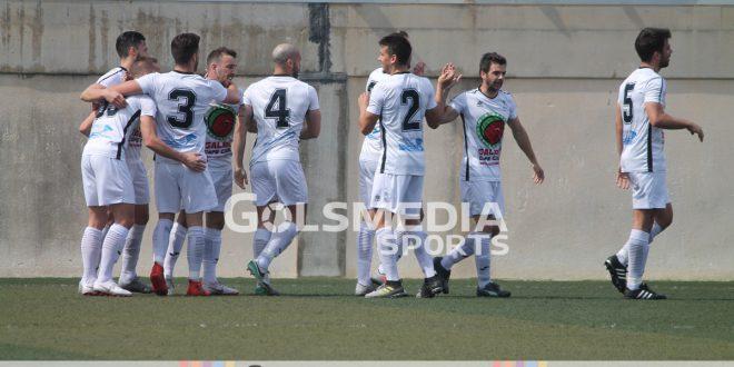 Villajoyosa cf celebración gol marzo 2019