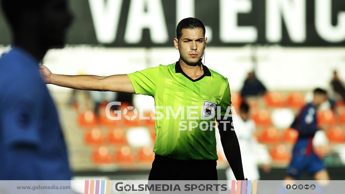 Árbitro Mestalla-Levante Segunda B