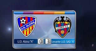 Alzira - Levante Juvenil División de Honor marzo 2019