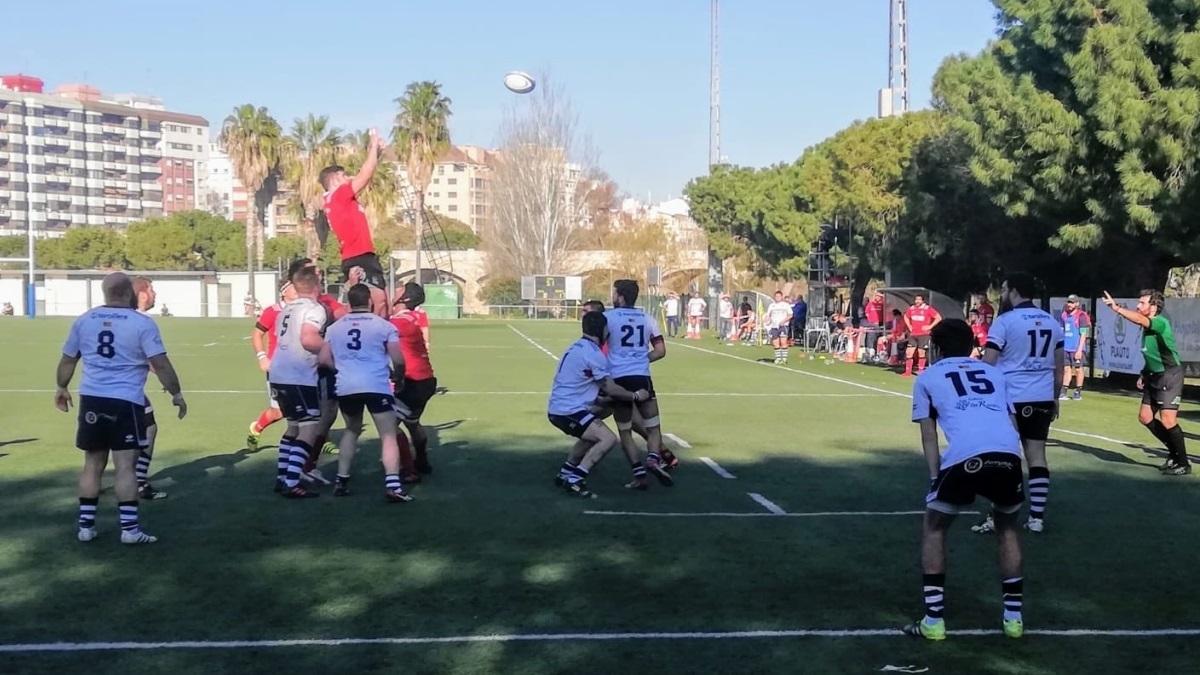 Fotografía del partido CAU Valencia vs Zaragoza