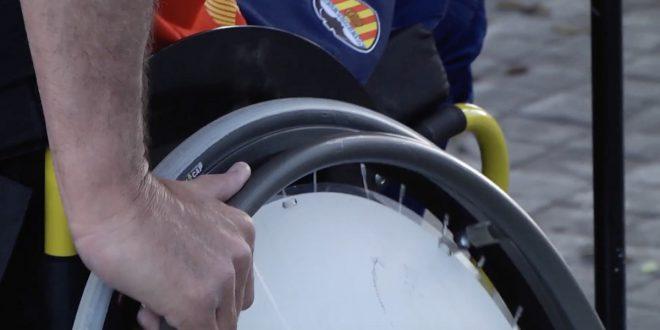 futbol en silla de ruedas