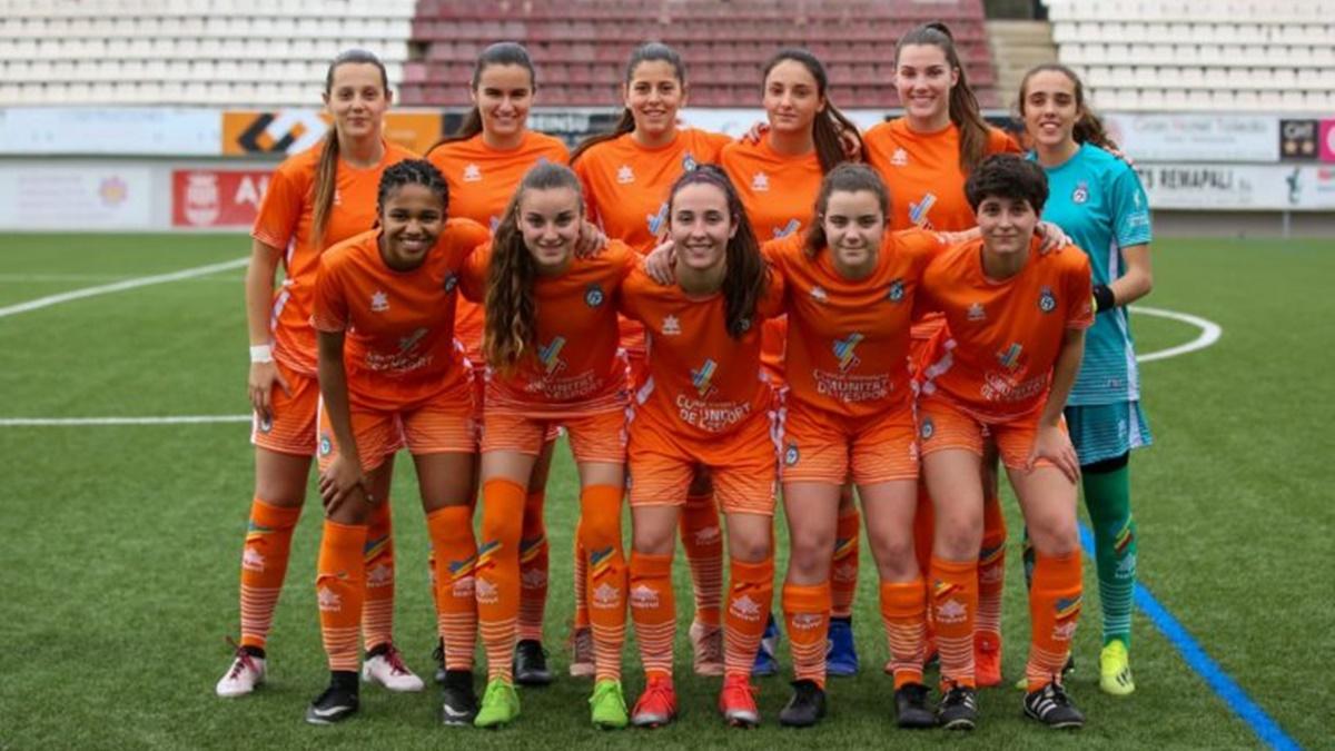 Selección Valenciana Sub-21 femenino primer once
