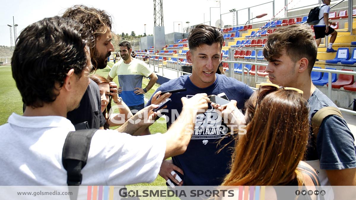 Dani Cárdenas Ascenso 2018 Atlético Levante