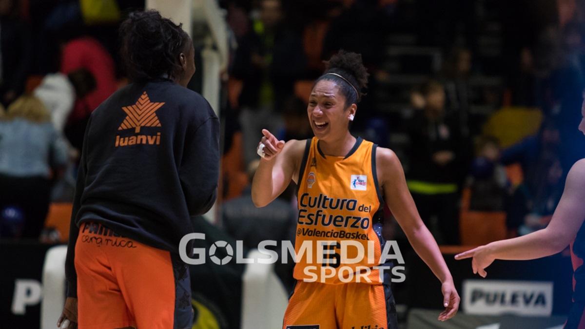 Las chicas del Valencia Basket se cuelan en semifinales de los play-off de la Liga DIA