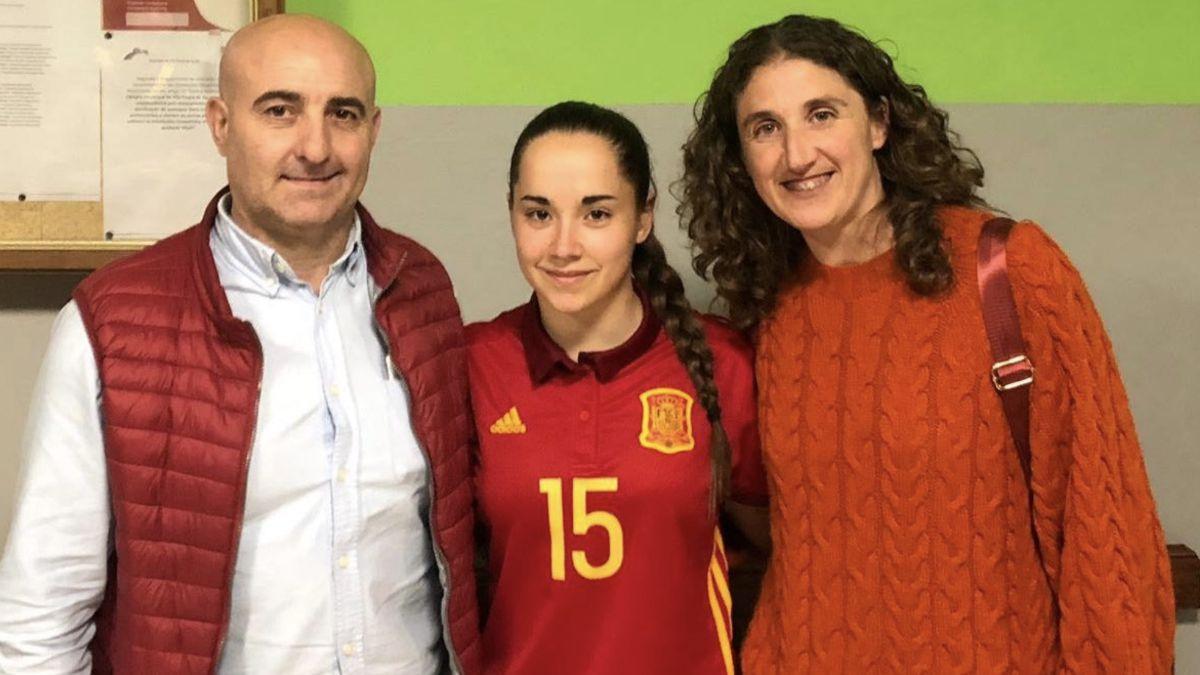 Aitana Benítez debut España Sub-19