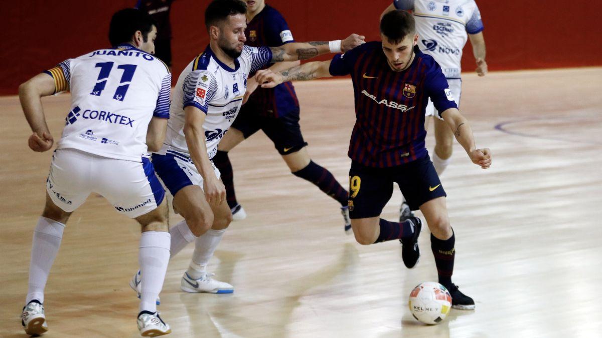 Barça Lassa B - Bisontes Castellón FS