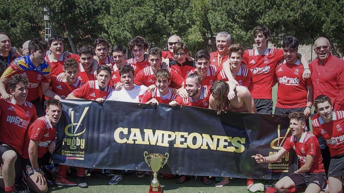CAU Rugby Valencia campeón autonómico sub-18
