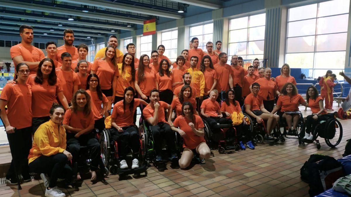 Campeonato de España Absoluto de Natación Adaptada por Comunidades Autónomas 2019
