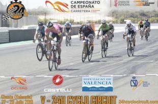 Cartel 24 horas Cyclo Circuit 2019