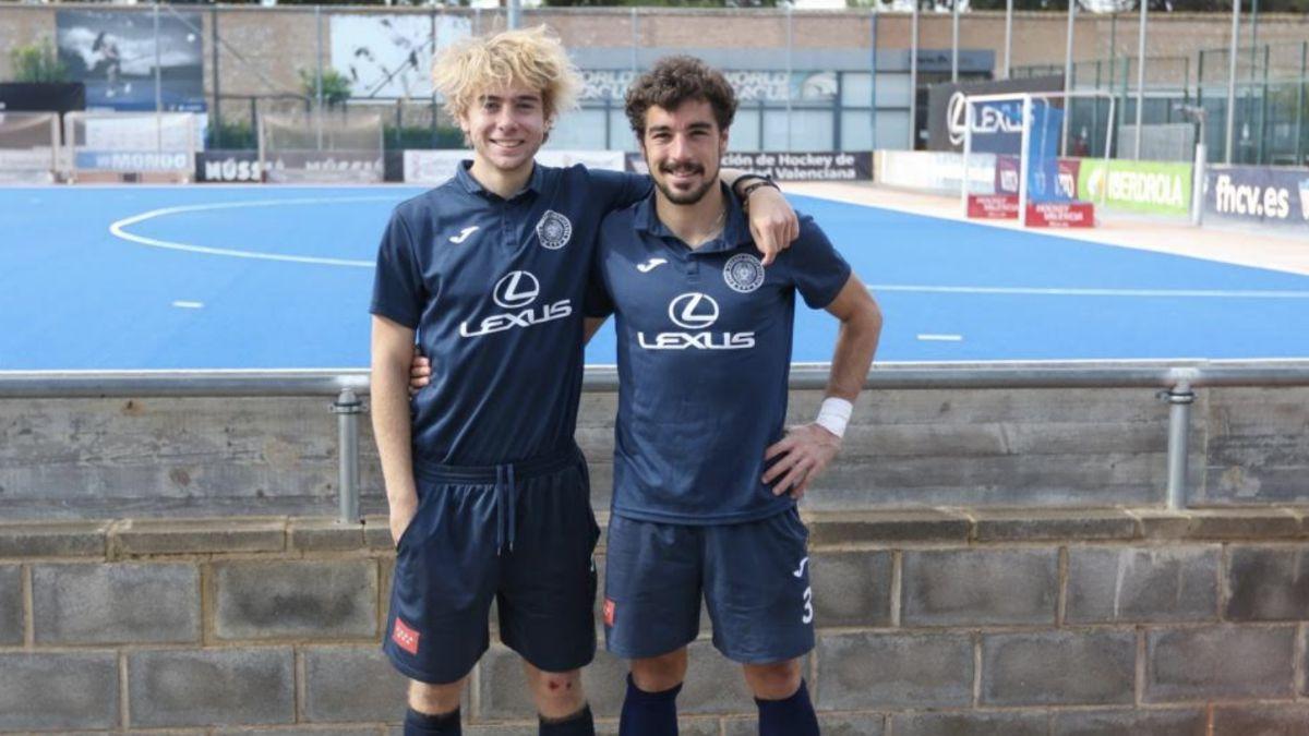 César Curiel y Pedro Arqués