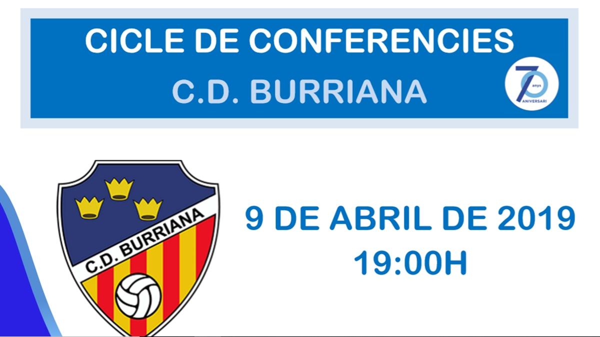 Conferencias 70 aniversario CD Burriana