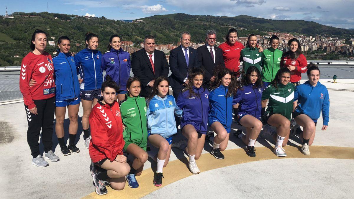 Copa Reina y Minicopa Balonmano Barakaldo 2019