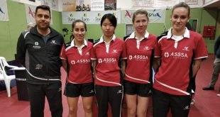 Equipo femenino ASSSA Alicante TM