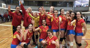 Equipo femenino I.E.S. Nº1 de Cheste bronce Mundial Escolar Sub-15