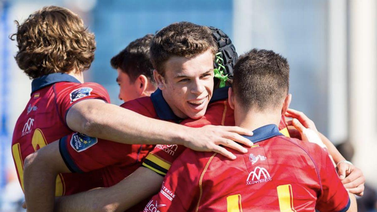 España Campeonato Europa Rugby Sub-18