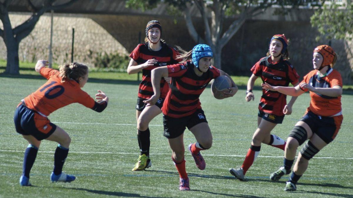 Ingrid Algar CAU Rugby Valencia