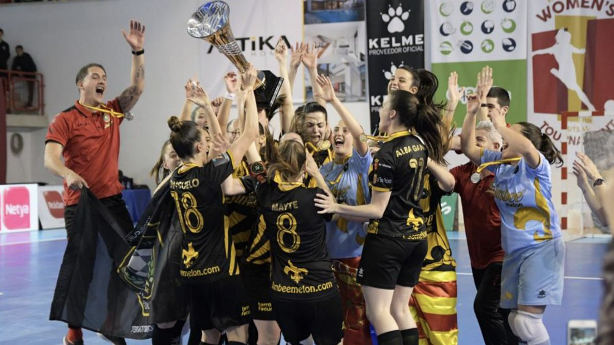 imbee Roldán FSF European Women's Futsal Tournament