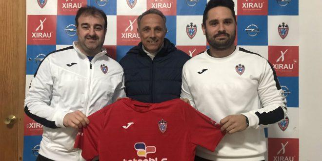 Jorge García y Dani Pina Rayo Ibense