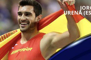 Jorge Ureña nominado atleta europeo marzo