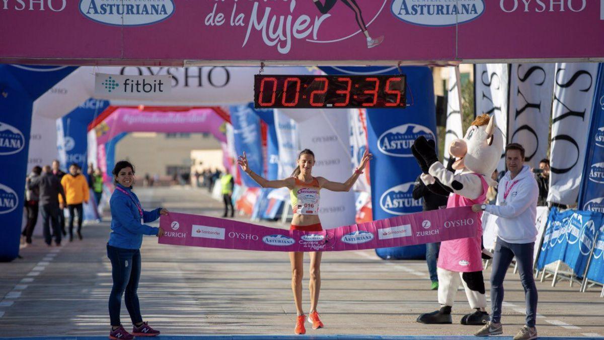 María José Cano campeona Carrera de la Mujer Valencia 2019