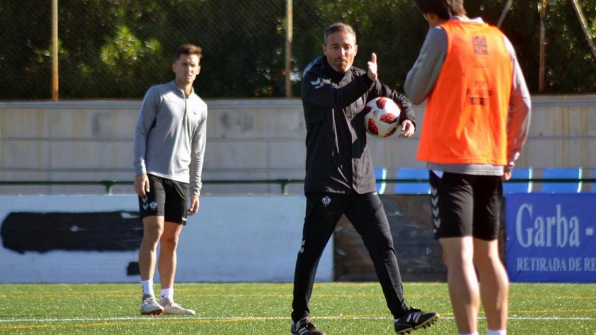 Oscar Cano, entrenador del Castellón